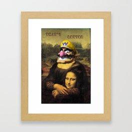 Wario's style Framed Art Print