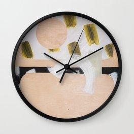 Marmalade Marbles II Wall Clock