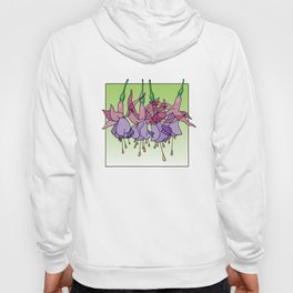 Purple Fuchsias Hoody