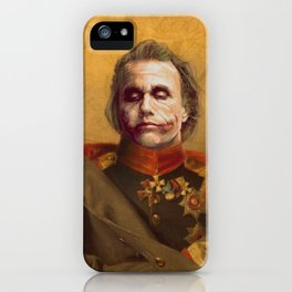 The Joker General Portrait | Fan Art (Personal Favorite) iPhone Case