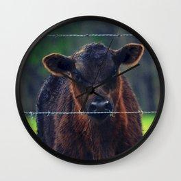 Moo Cow II Wall Clock