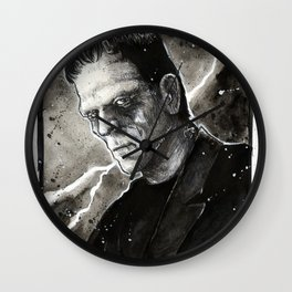 Frankenstein's Monster Wall Clock