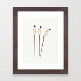 Miso Framed Art Print
