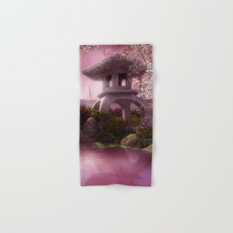 Oriental Garden Hand & Bath Towel