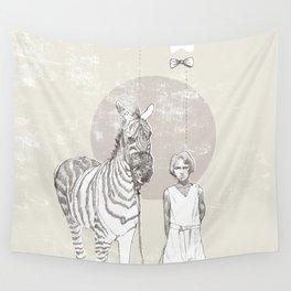 My Pet Zebra Wall Tapestry