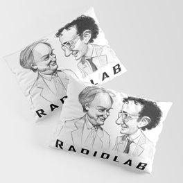 RadioLab with Robert and Jad Pillow Sham