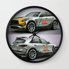 Infiniti QX70 RB Edition Wall Clock