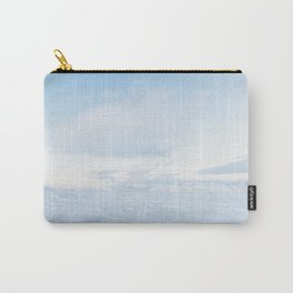Snowy Ice Blue Iceland Landscape Carry-All Pouch