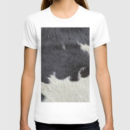 Cowhide for a fluffy hair lover T-shirt