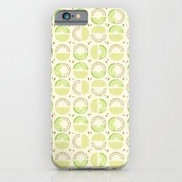Honeydew Pattern iPhone Case