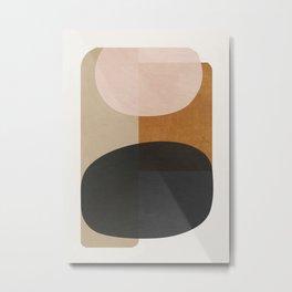 abstract minimal 59 Metal Print