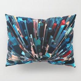 Three Dimensional Color Stacks Pillow Sham