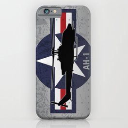 AH-1 Cobra Helicopter iPhone Case