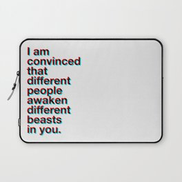 I Am Convinced Laptop Sleeve