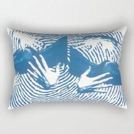 Five Senses III - My body My rules Rectangular Pillow