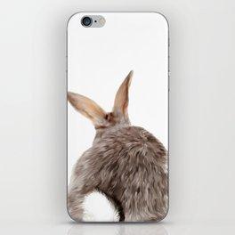 Bunny back side iPhone Skin