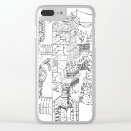 City Of Thieves Clear iPhone Case