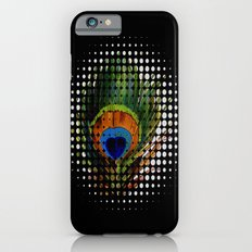 BLACK PEEKING PEACOCK Slim Case iPhone 6s