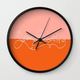 Jeremy Bearimy, Baby in Sunrise Wall Clock