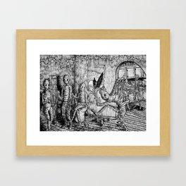 Never Ending Summer  Framed Art Print