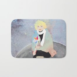 Moon girl Bath Mat