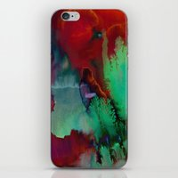fifth element iPhone & iPod Skins featuring Element by Amy Sia
