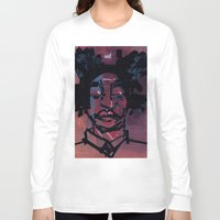 basquiat Long Sleeve T-shirts featuring basquiat by joseph arruda (zeruch)