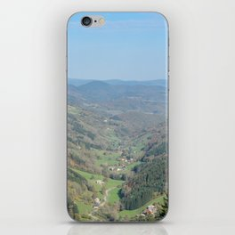 French view in the valley iPhone Skin