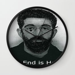 End it now Wall Clock