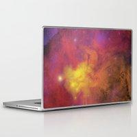 plain Laptop & iPad Skins featuring Nebula (plain) by Scarlet