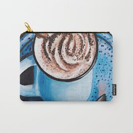 Cappucino Time Carry-All Pouch