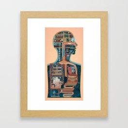 Homo Machina | The palace Framed Art Print
