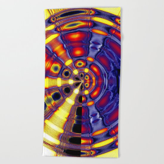 big thai gong Beach Towel