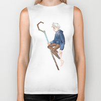 jack frost Biker Tanks featuring Jack Frost by Rosita Maria