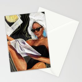 Evening Hot News Stationery Cards