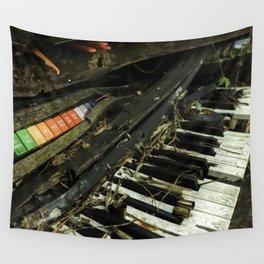 Dilapidated Organ Wall Tapestry