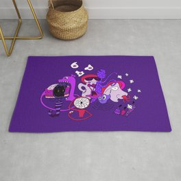 Freak Party Version 2 Rug