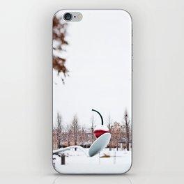 snow spoon & cherry iPhone Skin