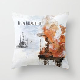 F is for Failure Throw Pillow