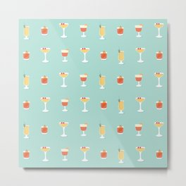 Cocktails Metal Print