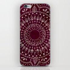 Wine Mandala iPhone & iPod Skin