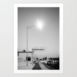 A Streetlight Art Print