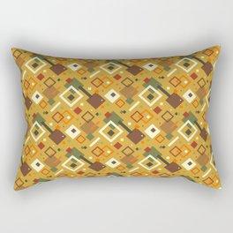 GEOMETRIC, FALL COLORS Rectangular Pillow