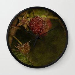 wild berries #5 Wall Clock