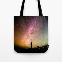Galaxy Explorer Tote Bag