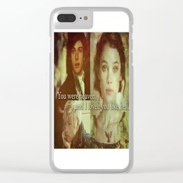 Will, Jem and Tessa Clear iPhone Case