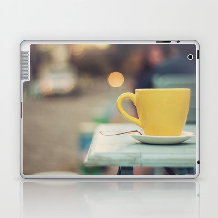 The yellow cup Laptop & iPad Skin