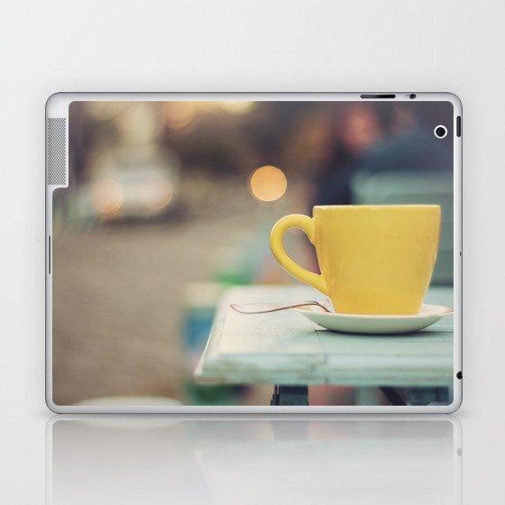 The yellow cup Laptop & iPad Skin