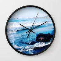 bali Wall Clocks featuring bali by Jen Gottlieb
