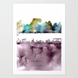 The City Underneath Art Print